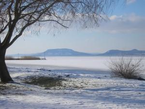 A Balaton télen