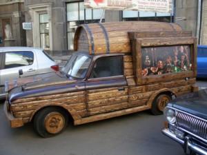 Felszerelt autó