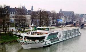 Hajós munka a Duna folyón