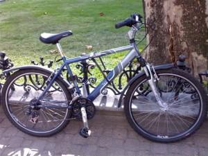 Lezárt bicikli