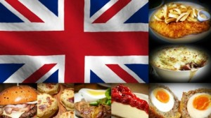 Anglia ételei