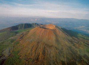 Vezúv vulkán