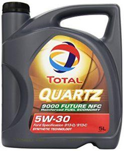 Total Quartz 9000 motorolaj