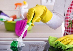 Konyha tisztítása