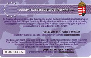 Európai egészségbiztosítási kártya