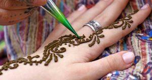Henna eltávolítás